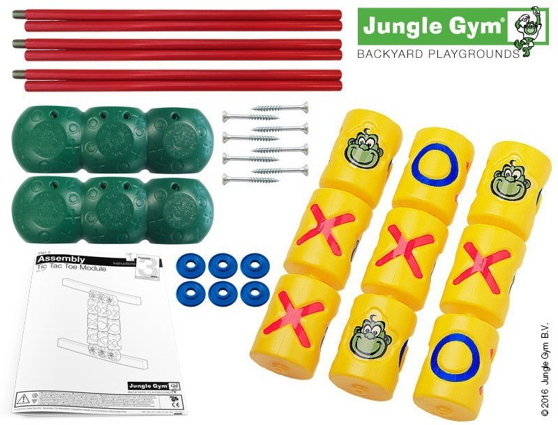 Jungle Gym - Tic Tac Toe